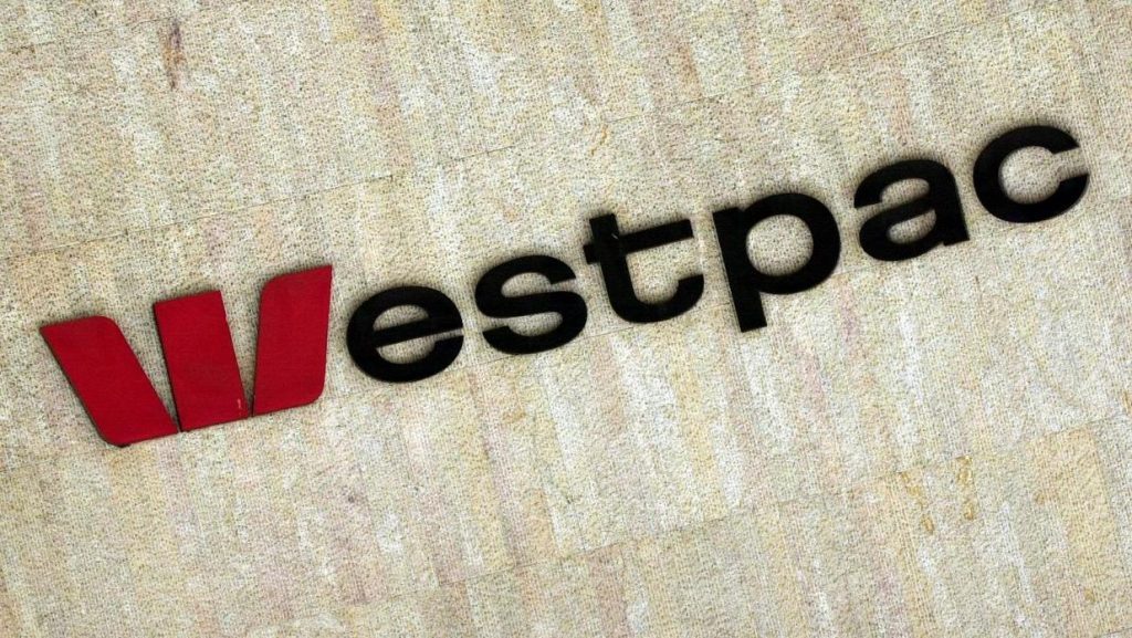 westpac group sign on head office in australia