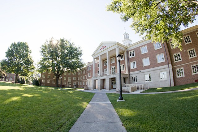 The Moffett Hall at Radford University