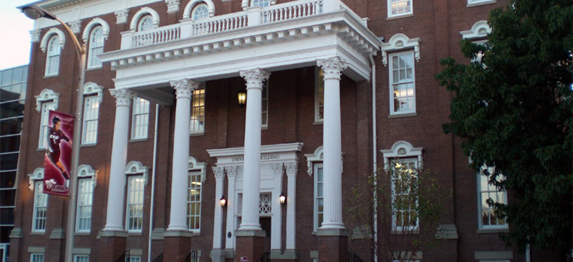 Entrance to the Roark Building at EKU.