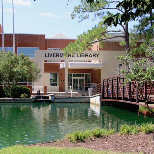 Front view of the Livermore library