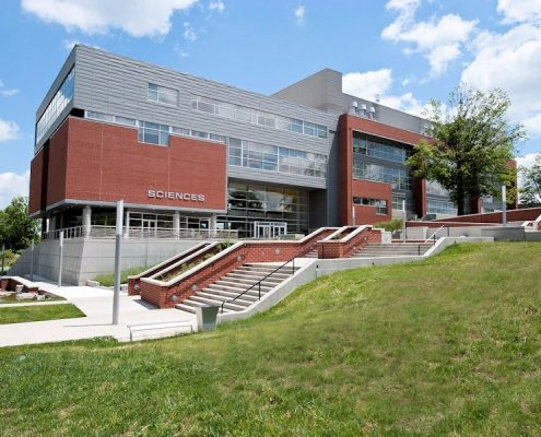 The Modernized New Science Building at EKU.