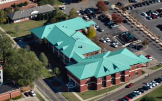 Top view of the student health services.