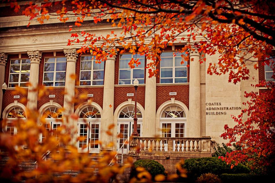 Beautiful in Autumn - Coates Building.