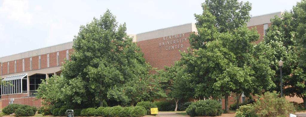 Side of the Keathley University Center