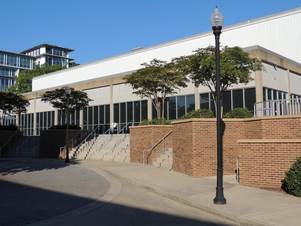 The Maclellan Gymnasium at UTC