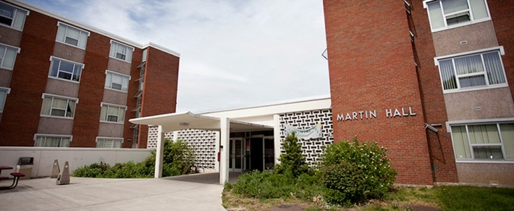 Newest Residence Building - Martin Hall.