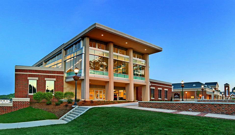 The Recreation & Wellness Center at  Radford University