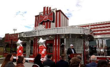 JP's Diner entrance