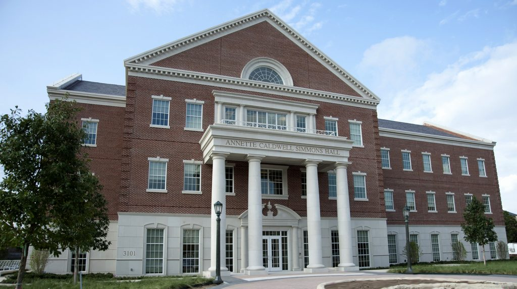 Annette Caldwell Simmons Hall at SMU