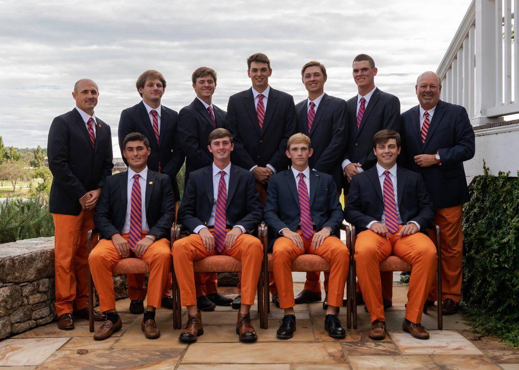 The Clemson Men's Golf Team