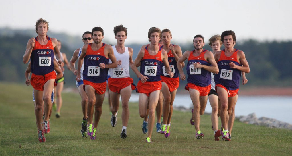 Clemson University Cross Country Team athletes