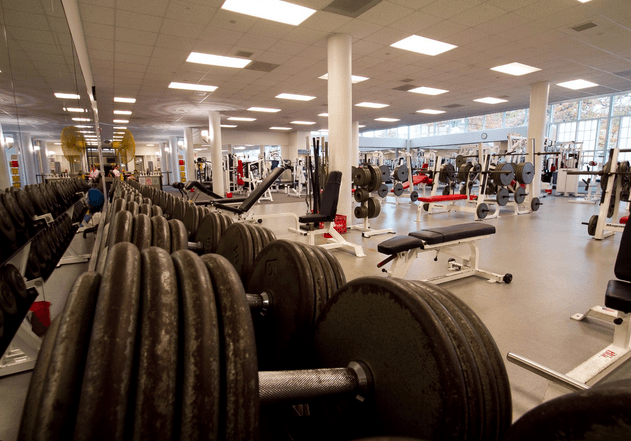 various equipments located in the student recreation center