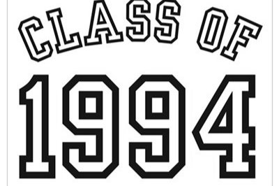 Class of '94 graphic