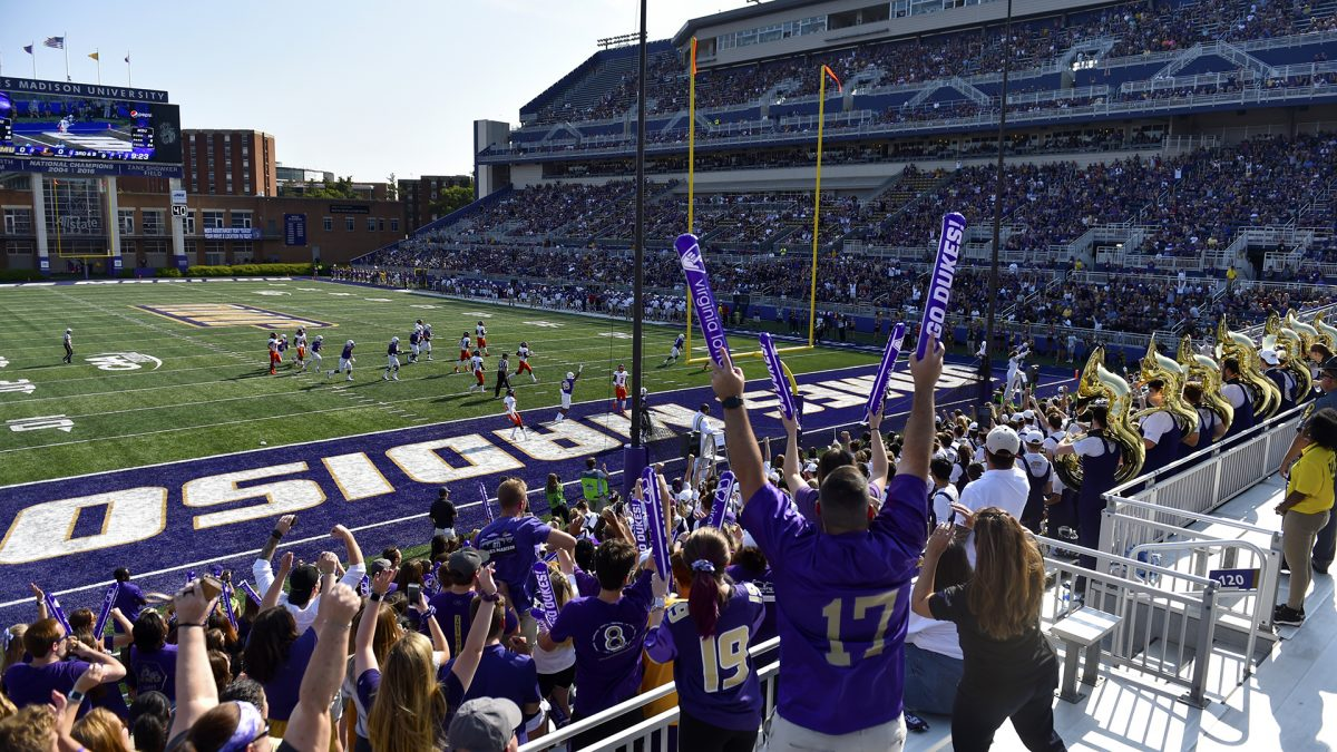 Top 10 Sports at James Madison University