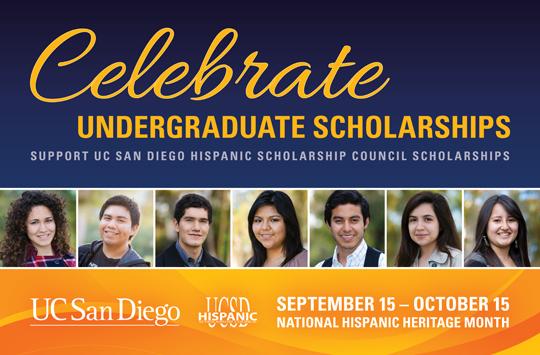 UC-San Diego scholarship graphic