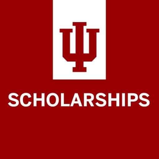 IU scholarships graphic
