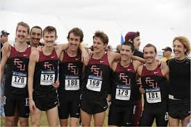 the cross country teammates in a group photo