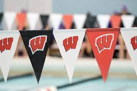 flag banners for the university of wisconsin madison