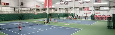 the inside of the nielsen tennis stadium