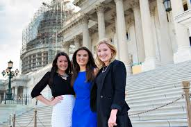 a group of students interning at capital hill