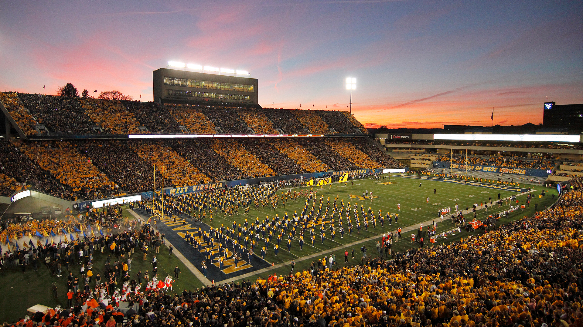Top 10 Sports at West Virginia University