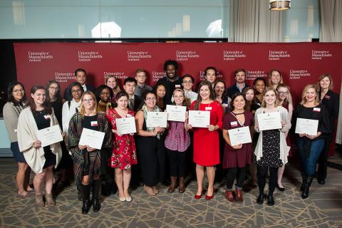 UMASS scholarship recipients