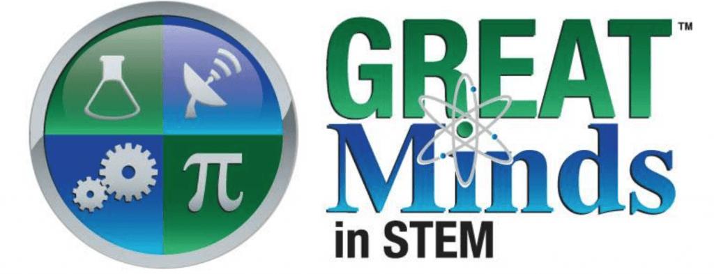 Great Minds in STEM logo