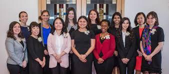 financial womens association group photo