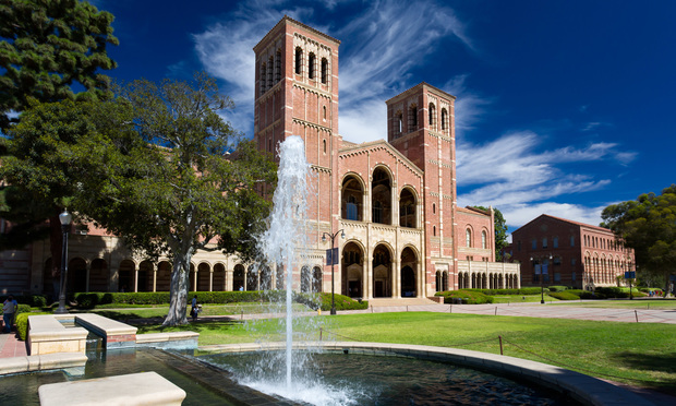 Royce Hall on the campus of UCLA.