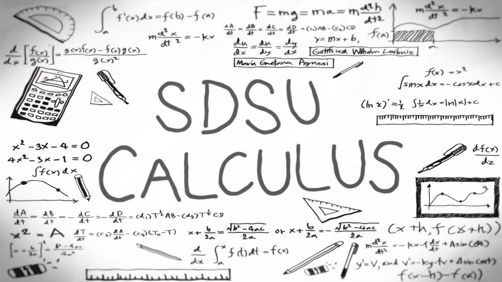 graphics of calculus at san diego state