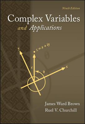 "A ""Complex Variables"" textbook cover"