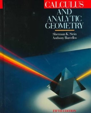 "A ""Calculus With Analytic Geometry"" textbook cover"