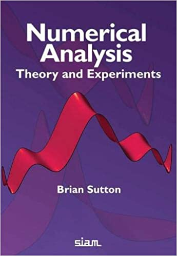 """A """"Numerical Analysis"""" textbook cover"""