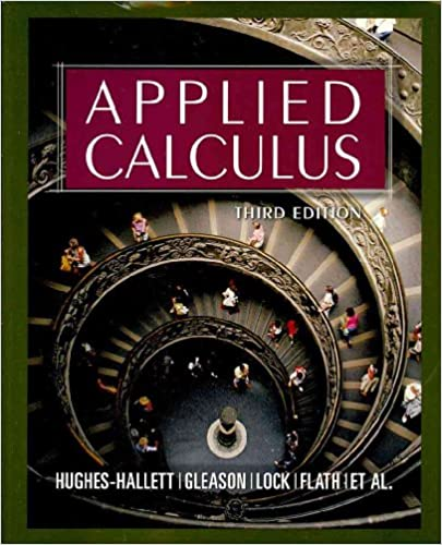 """An """"Applied Calculus"""" textbook cover"""