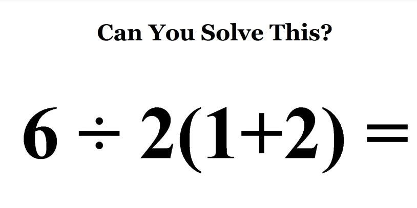 A mathematical problem involving an equation.