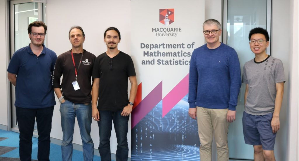 macquarie student from department of math and stats