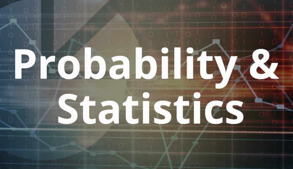 A poster written Probability and Statistics
