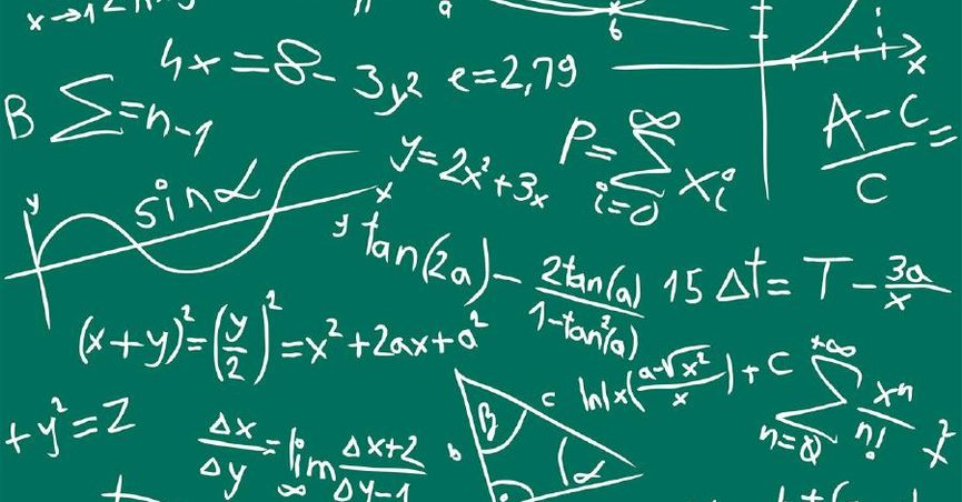 Image of many math equations.