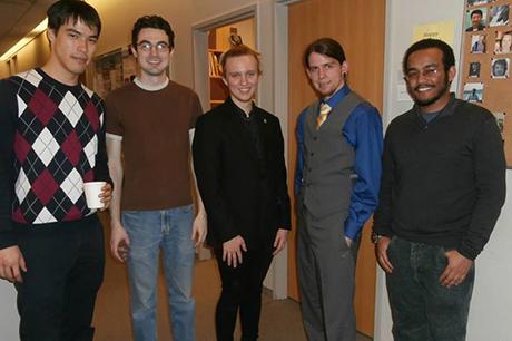 CUNY graduate students of Mathematics