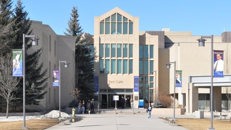 Entrance of mount royal university