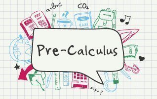 A word bubble written Pre-Calculus