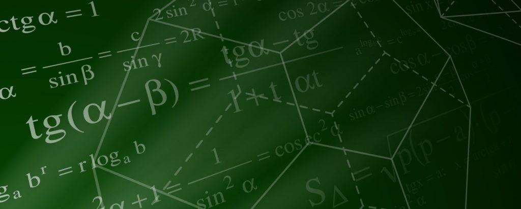 math equations andd shapes