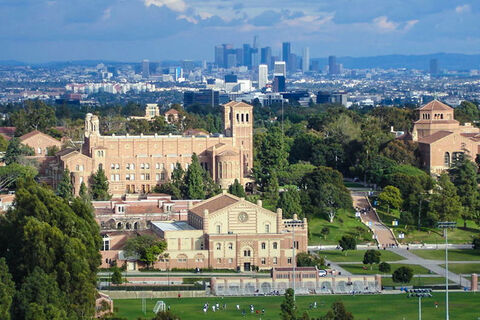 Overview of campus at UCLA.