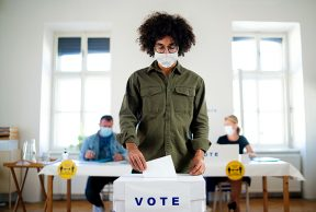How Do College Students Plan to Vote for President?
