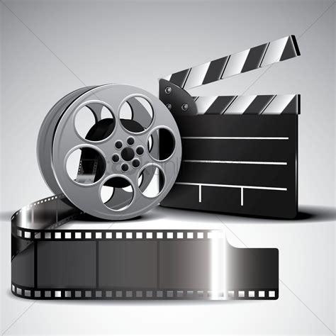 Film reels used to make films.