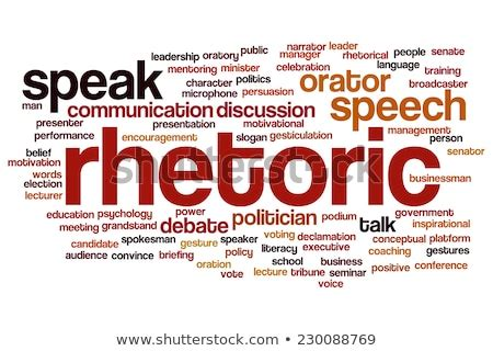 Different words describing the term Rhetoric and its meaning.