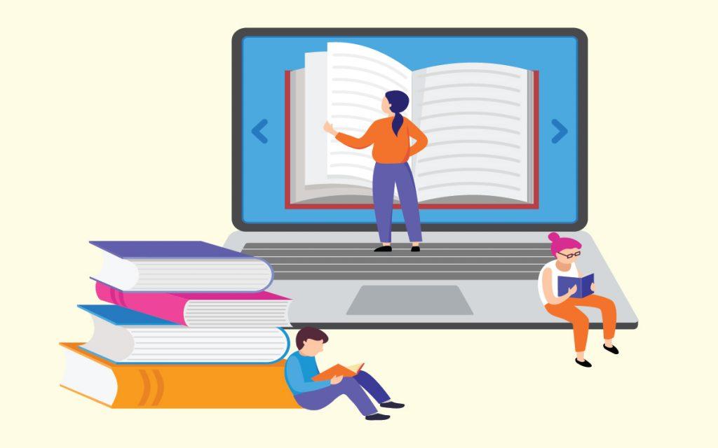 online school imagery